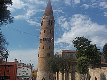 Caorle Cathedral Campanile.jpg