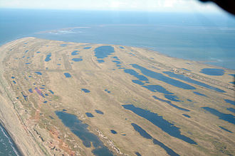 Bering Land Bridge National Preserve - Cape Espenberg from the air
