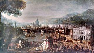 Capriccio of the City of London