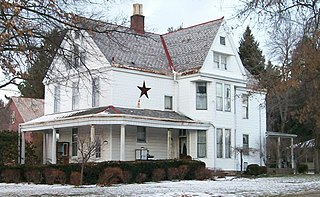 James Boggs Tannehill House Historic residence in Zanesville, Ohio, United States