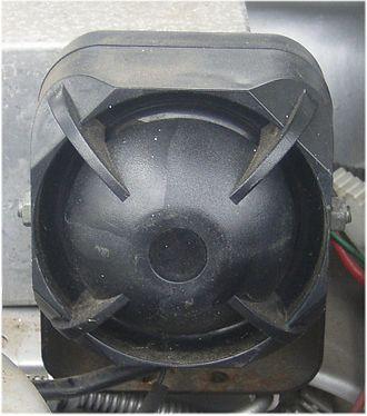 Car alarm - Car alarm siren