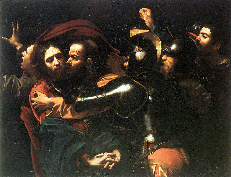 Ficheiro:Caravaggio - Taking of Christ - Dublin - 2.jpg