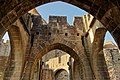 Carcassonne - Drawbridge-Entrance to the Citadel - View WNW.jpg