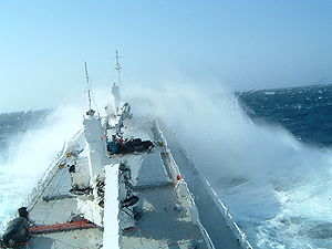 Chief mate - The conditions for navigating a ship can often be challenging.