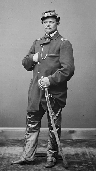 68th New York Volunteer Infantry Regiment - Major Carl von Wedell briefly commanded the regiment when his superiors had all resigned or been killed.