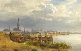 A view of the coast near Antwerp.