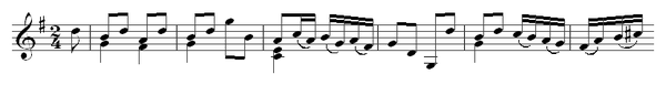 Carl Friedrich Abel: Solo sonata for treble viol