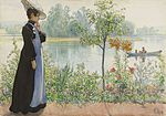 Carl Larsson - Karin by the shore - Google Art Project.jpg
