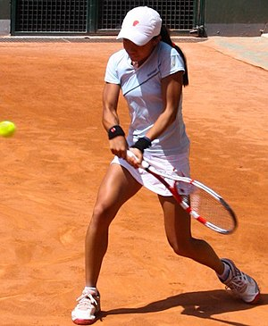 Carol Zhao - Zhao at the 2011 French Open