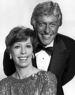 Dick Van Dyke - Carol Burnett and Dick Van Dyke in 1977