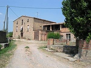 Sant Mateu de Bages - Street in Sant Mateu de Bages