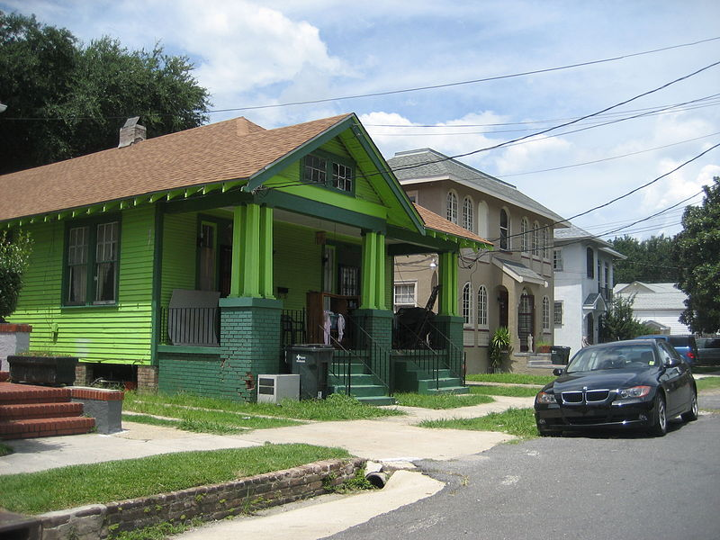 File:CarrolltonBirchGreenHouseJuly2008.jpg DescriptionNew Orleans: Residential architecture on Birch Street, Carrollton neighborhood.