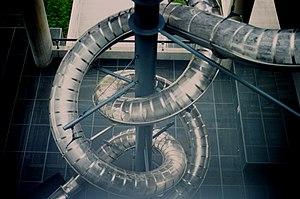 Museum of Contemporary Art, Zagreb - Image: Carsten Höller's Double Slide