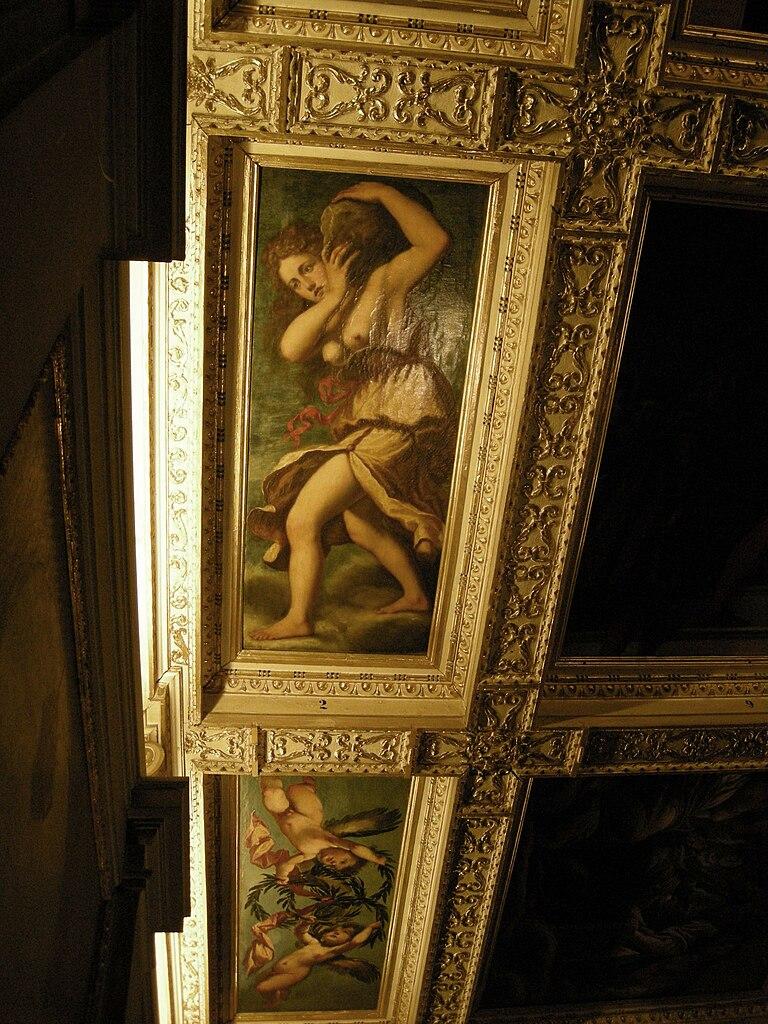 File casa buonarroti galleria soffitto zanobi del rosso for Galleria del piano casa