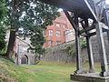 Castell Rhuthun - adfeilion y goresgynwyr (wel o lia fe drion nhw) 18.JPG
