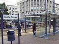 Castle Square tram stop, Sheffield - DSC07441.JPG