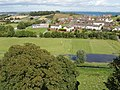 Castle View houses and primary school from Killyleagh Castle - geograph.org.uk - 1581448.jpg