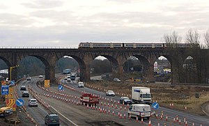 Castlecary - Image: Castlecary Viaduct geograph.org.uk 1742750