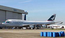 Boeing 747-400 at London Heathrow Airport