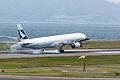 Cathay Pacific Airways, B777-300, B-HNF (17879550811).jpg
