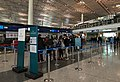Cathay Pacific check-in counters at ZBAA (20180307133149).jpg