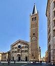 Cathedral facade, Parma, Italy, 2019, 01.jpg