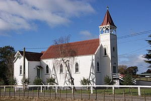 Clive, New Zealand - The decommissioned Catholic church in Clive