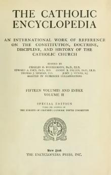 Catholic Encyclopedia, volume 2.djvu