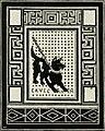 Cave canem mosaic – Pompei – in History of Rome and of the Roman people (1883) (14596850010).jpg