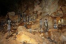 عکسی از غار یخ مراد از جاذبههای طبیعی گردشگری استان البرز