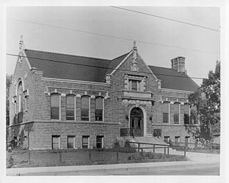 Northeast Library - With community support and funds from Andrew Carnegie the Central Avenue Branch of the Minneapolis Library opened on November 15, 1915. It stood until 1972 when it was razed for Northeast Library.