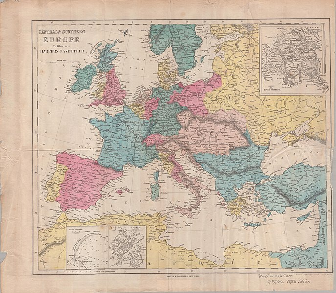 File:Central and Southern Europe Map 1855.jpg