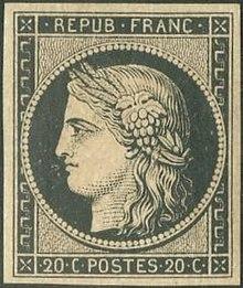 """Résultat de recherche d'images pour """"1er timbre poste français"""""""
