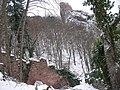 Château du Girsberg (528 m) et mur d'enceinte (Ribeauvillé).jpg