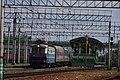 ChS2K-821 with train, Ramenskoye station.jpg