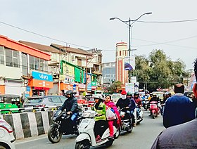 Chakrata road Clock Tower.jpg