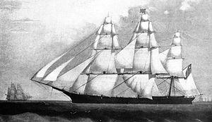 Robert Waterman (sea captain) - Challenge, 1851 clipper