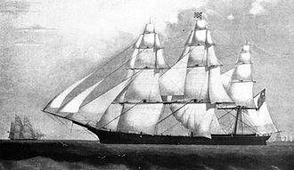 William H. Webb - Challenge, 1851 clipper