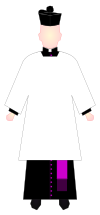 Chaplain of His Holiness - choir dress.svg