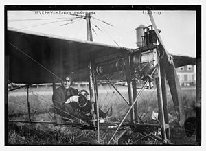 Charles Minthorn Murphy - Charles Minthorn Murphy in the New York City police monoplane in 1914