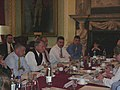 Charles Wilson leading US Delegation during talks with UK about Diego Garcia.jpg