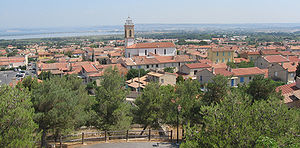 Châteauneuf-les-Martigues - A panoramic view of Châteauneuf-les-Martigues