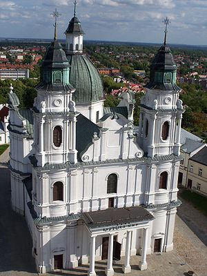 Chełm - Basilica of the Birth of the Virgin Mary in Chełm