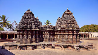 Chennakesava Temple, Somanathapura - The platform around the temple serves as the circumambulation passage.