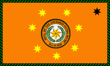 Flag of the Cherokee Nation
