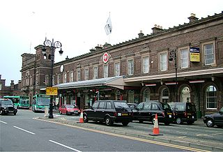 Chester railway station Railway station in Cheshire, England