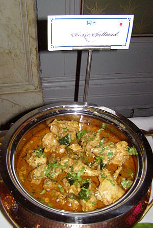 Chettinad cuisine - Chicken Chettinad, a popular dish from the region