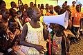 Children participate in hygiene learning sessions inside UN House, Juba, South Sudan (12317225965).jpg