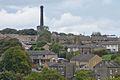 Chimney of the Black Dyke Mills, Queensbury.jpg