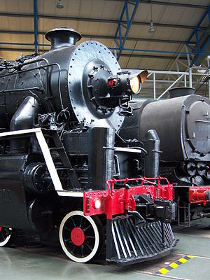 National Railway Museum - China Railways KF No. 607